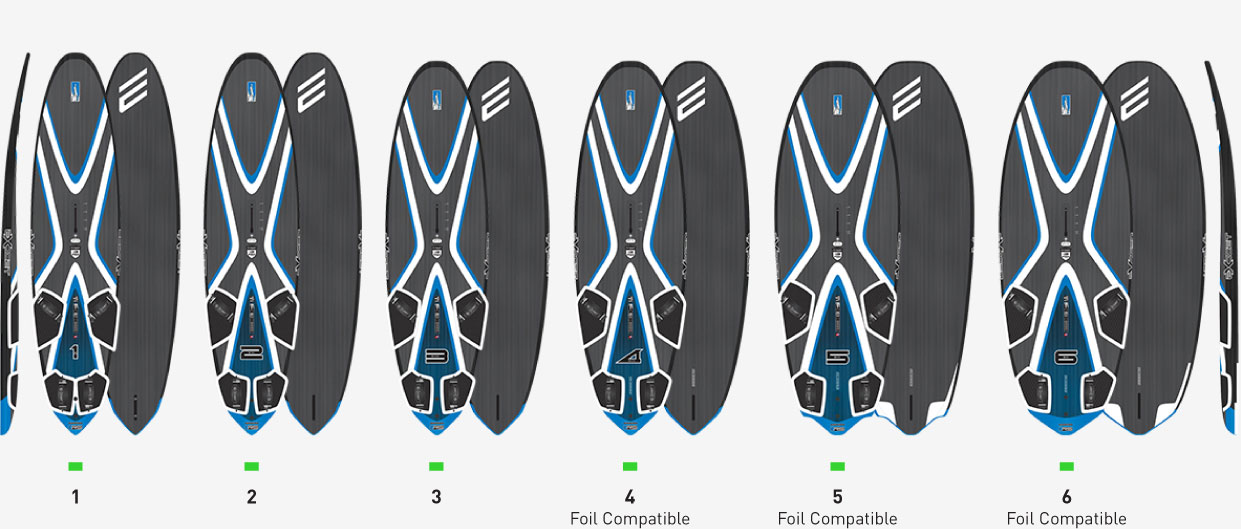 BOARD EXOCET RS SLALOM RACE
