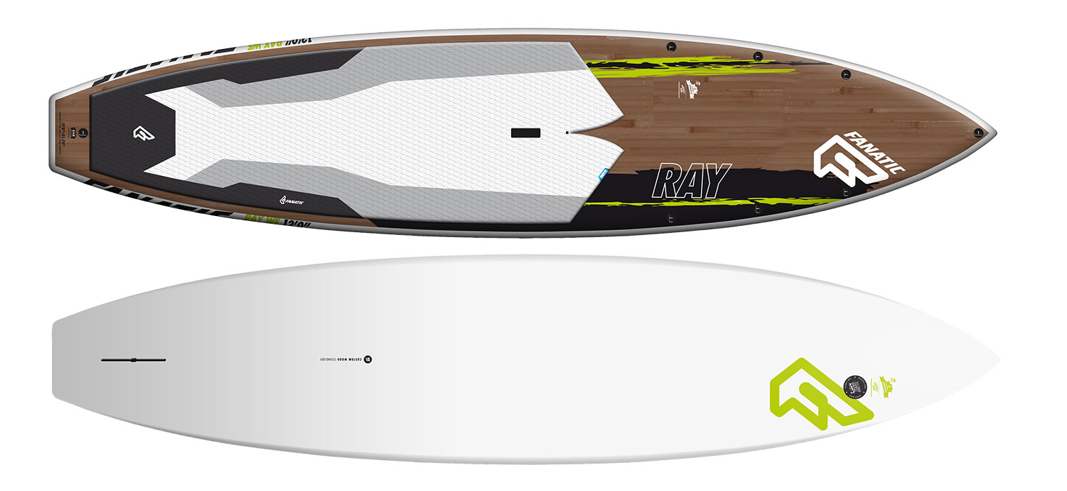 BOARD FANATIC SUP RAY WOOD and PURE