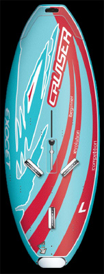 BOARD EXOCET CRUISER LARGE 205L