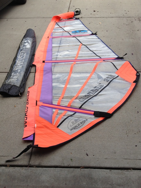 S3.5 WorldSails Genesis NEW AH 380 140