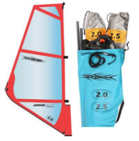 SAIL CHINOOK KIDS RIG 1.0m/1.5m or 2.0m/2.5m